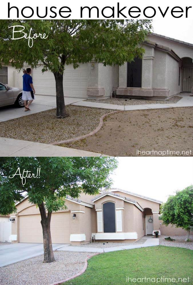 Adding curb appeal -great photos! | I Heart Nap Time - How to ...