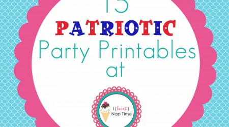 IHN Patriotic Party Printables