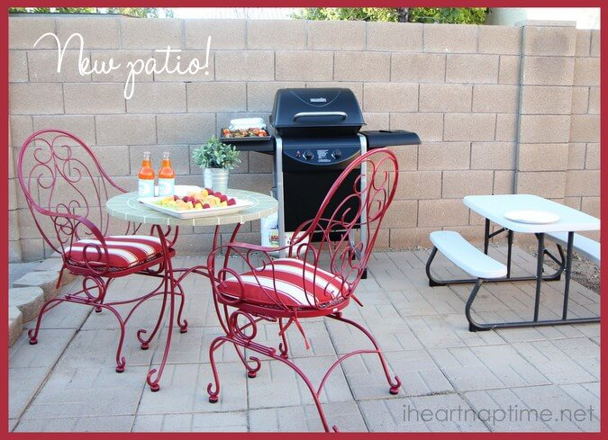 cute patio set