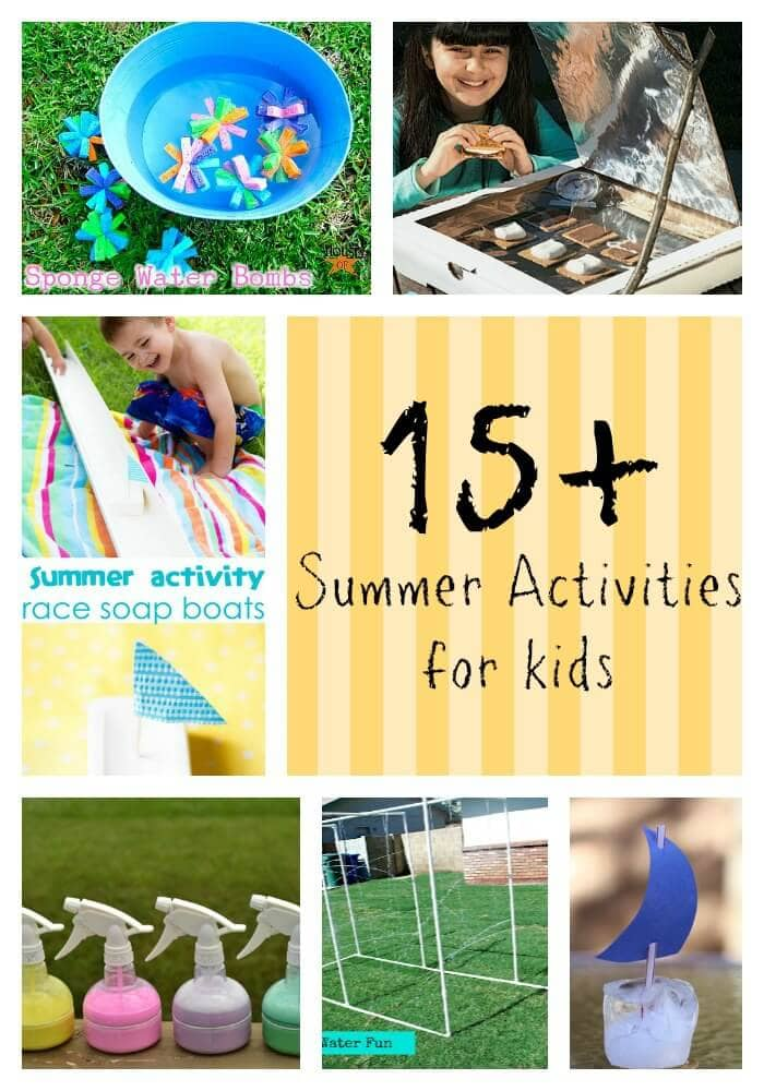 15 summer activities for kids on iheartnaptime.com