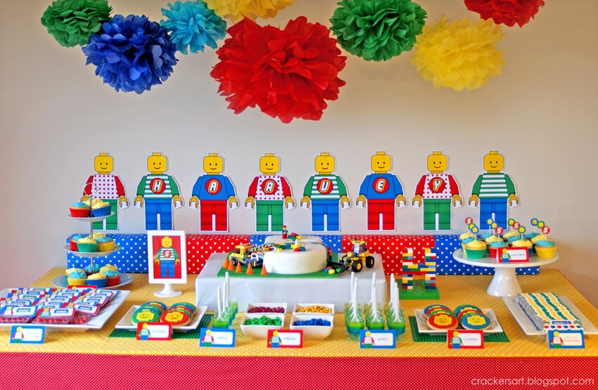 LEGO Birthday Party Cake Ideas 850 x 555 · 559 kB · jpeg