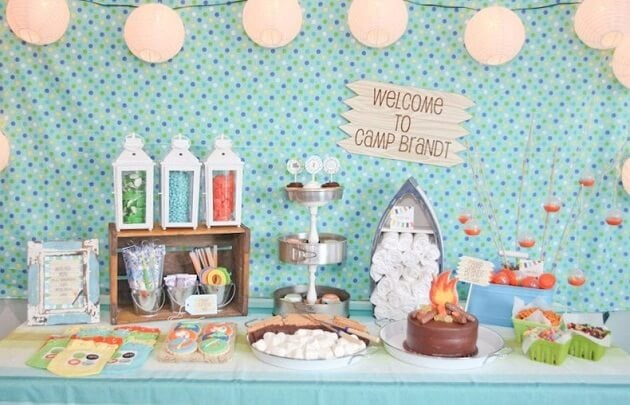 Summer Camp Party Via Celebrations At Home