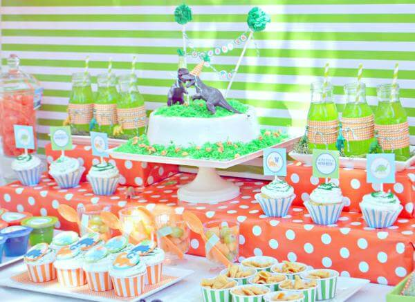 3rd birthday party ideas for boy dinosaur party via karas ideas 50 awesome boys birthday heart naptime