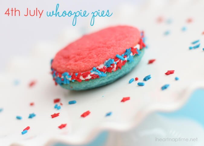 4th of july whoopie pies