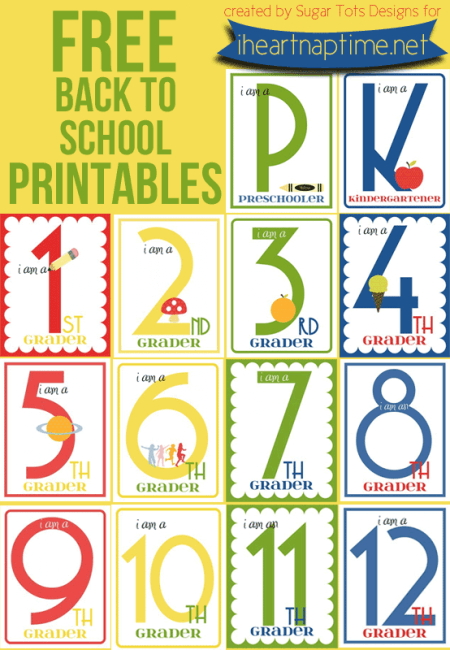 50 back to school ideas i heart nap time for Back to school decoration