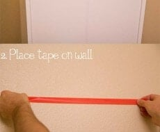 The easiest way to hang a picture! Why didn't I think of this? Pin now, read later! #tips