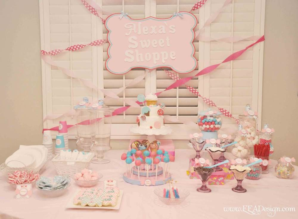 Girl Sweet 16 Party Ideas