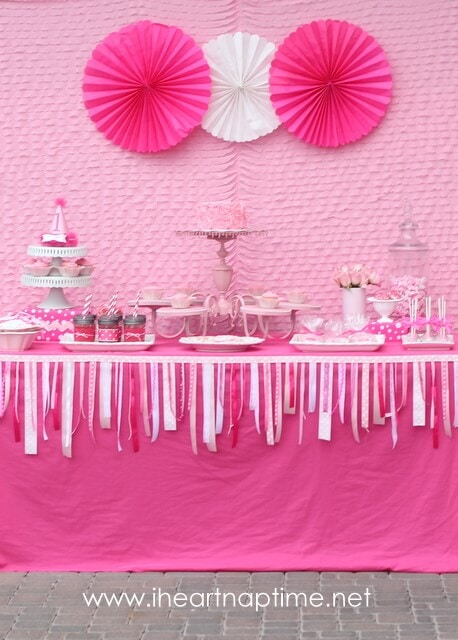 girl birthday themes