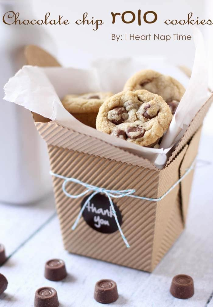 Rolo Cookies Fun Gift Idea I Heart Nap Time