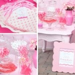 Cutest pink candy bar station via iheartnaptime.net