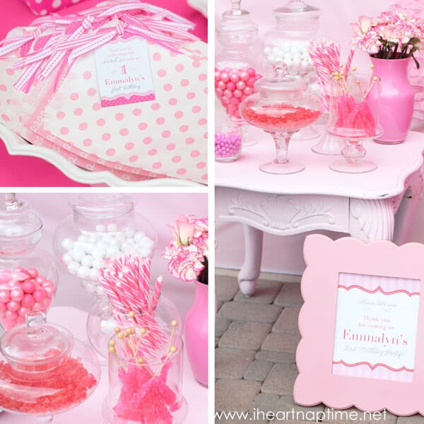 50 Birthday Party Themes For Girls  I Heart Nap Time ~ 214028_Birthday Party Ideas Pink