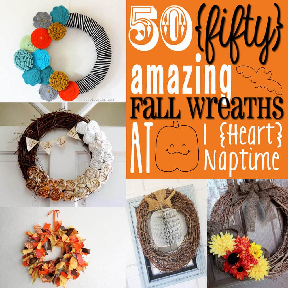50 amazing fall wreaths i heart nap time for Fall diy crafts pinterest