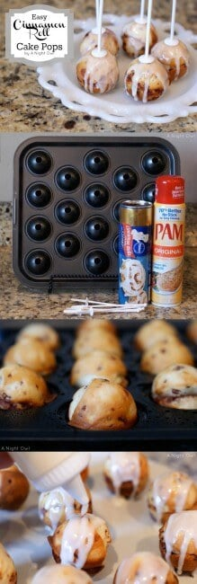 Cinnamon roll cake pops {YUM} - I Heart Nap Time