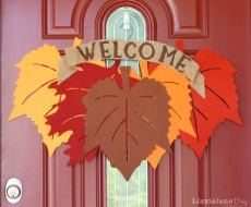 Fall Leaf Wreath 8