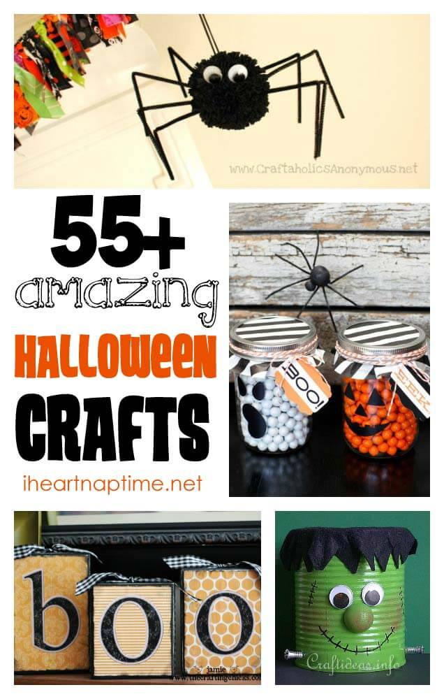 today we have 55 of the best halloween crafts - Diy Halloween Projects