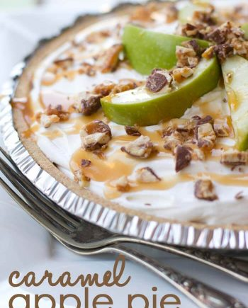 Snickers Caramel Apple Pie