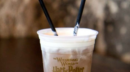 Homemade butter beer on iheartnaptime.net .  This is a creamy and delicious drink!