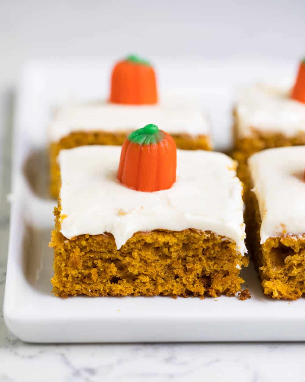 The Best Pumpkin Bars W Cream Cheese Frosting I Heart Naptime