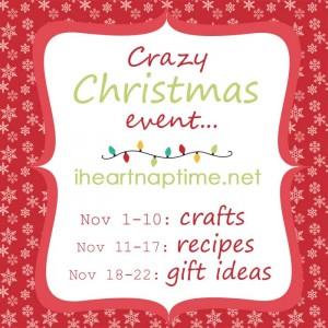 Crazy Christmas Event on iheartnaptime.net