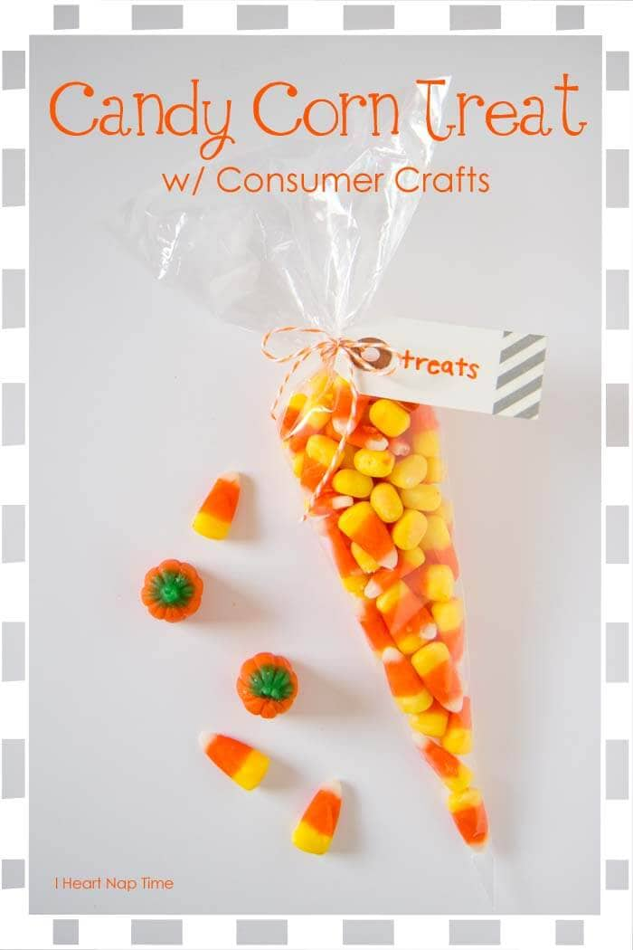 Candy Corn Treat Bags Consumer Crafts