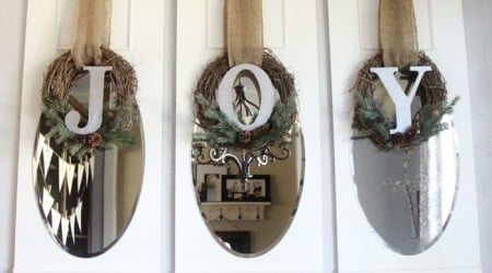 #DIY Joy wreaths for #Christmas on iheartnaptime.net by Shanty2Chic