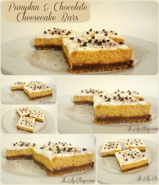 pumpkin cheesecake pumpkin cheesecake bars cream cheese pumpkin bars ...