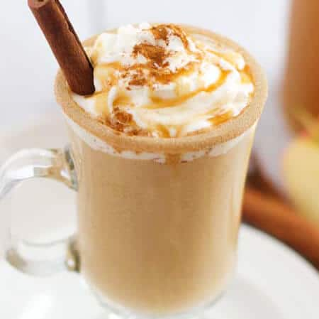 Sweet caramel apple cider