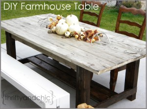 DIY Farmhouse Table 4