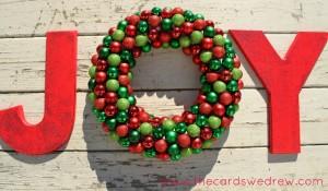 JOY wreath 2