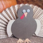 Pleated Paper Turkey
