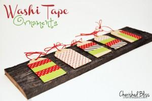 Washi-Tape-Ornaments