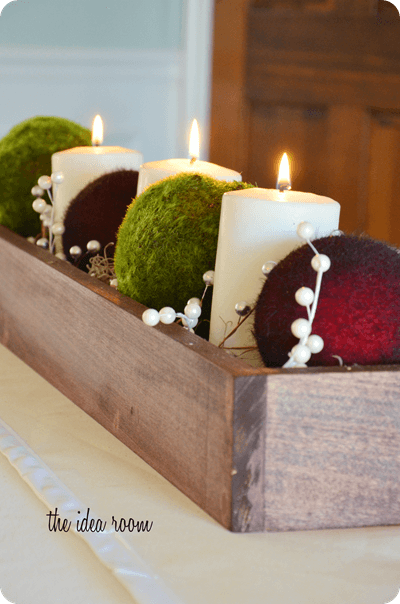 Christmas Table Centerpiece {DIY Christmas Decor} - I Heart Nap Time