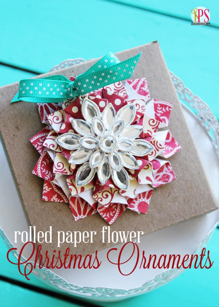 diy paper ornament chirstmas craft i heart nap time