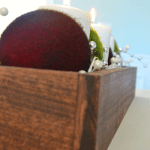 #DIY #Christmas centerpiece by The Idea Room on iheartnaptime.net