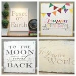 #DIY #Glitter Canvas Art by Classy Clutter on iheartnaptime.net