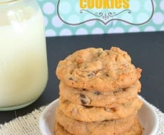 #Butterscotch Pudding Cookies by BruCrew Life on iheartnaptime.net