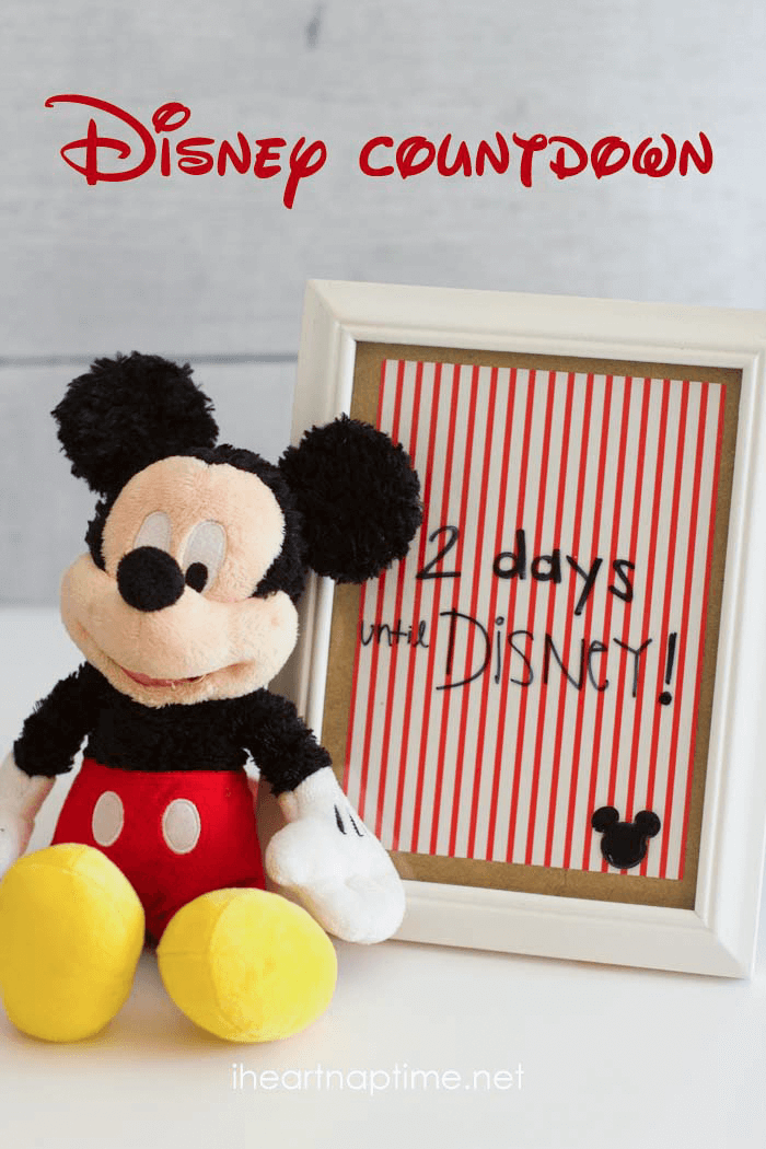 Disney count  down!