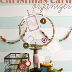 #DIY #Christmas Card Organizer by The Handmade Home on iheartnaptime.net
