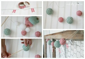 #DIY #Christmas Garland by Lolly Jane on iheartnaptime.net