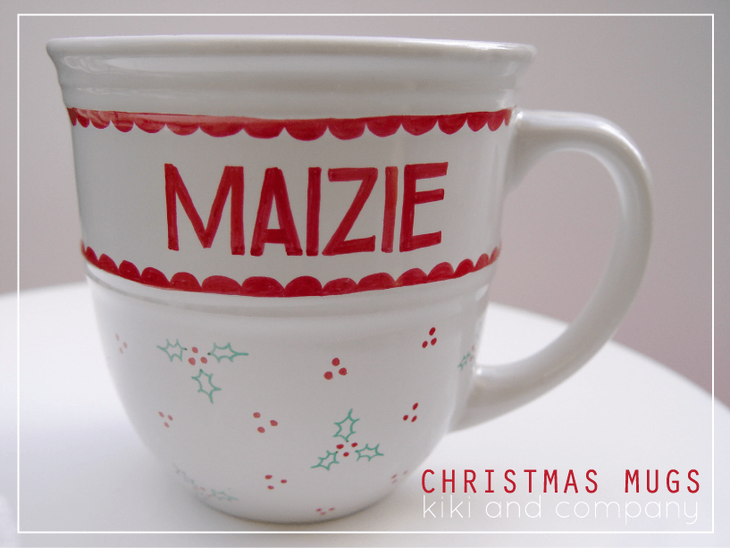 DIY Christmas Mugs - I Heart Nap Time