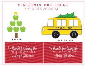 #DIY Christmas Mugs by Kiki and Company on iheartnaptime.net