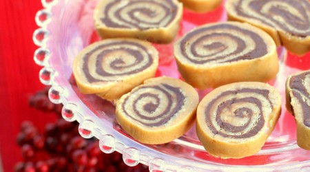 #Chocolate Peanut Butter Pinwheels by The Girl Who Ate Everything on iheartnaptime.net