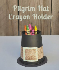 pilgim hat crayon holder