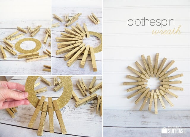 Diy Christmas Wreaths 5 Golden Rings I Heart Nap Time