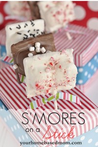 #smores on a stick by Your Home Based Mom on iheartnaptime.net