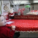 #DIY frosted tree branches and letters to santa by Bridgeywidgey on iheartnaptime.net