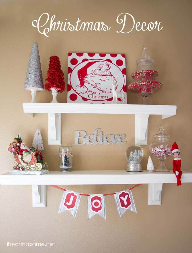Tons of handmade christmas ideas decor gifts and recipes for Net decoration ideas