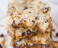 "7 layer ""MAGIC"" #cookie bars on IHeartNapTime.com ...these look delicious!! #recipes"
