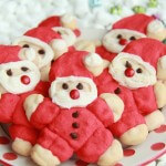 jolly santa cookies