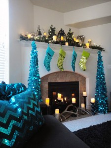 sparkling holiday decor